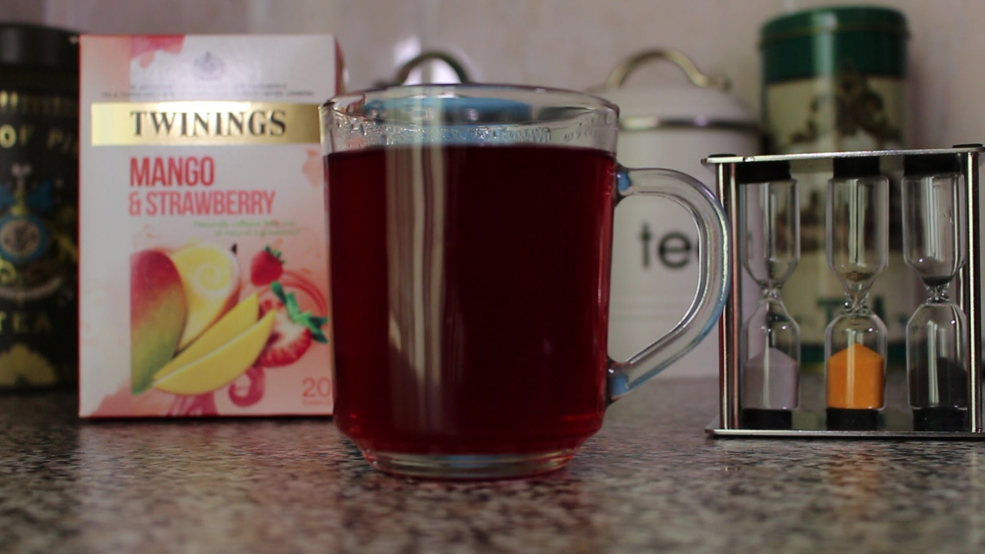Tea Review Twinings Mango & Strawberry